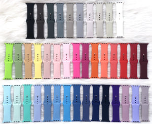 *WATCH BAND ONLY* S/M Wrist Size Colors 1-40