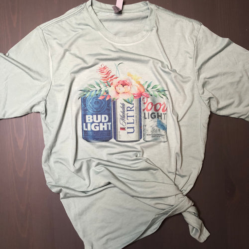Beer Cans Unisex Shirt - Small