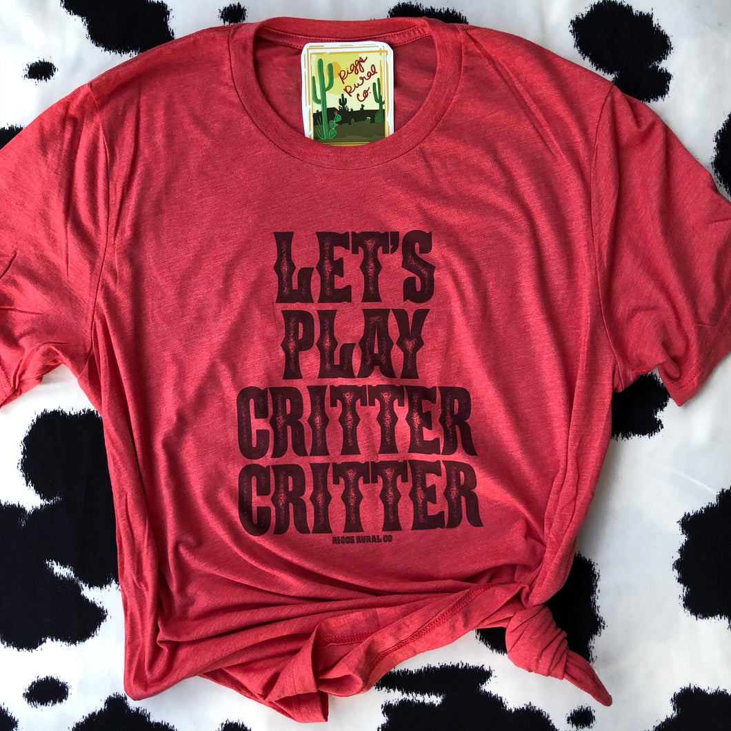 Let's Play Critter Critter - Koe Kollection - Unisex Shirt
