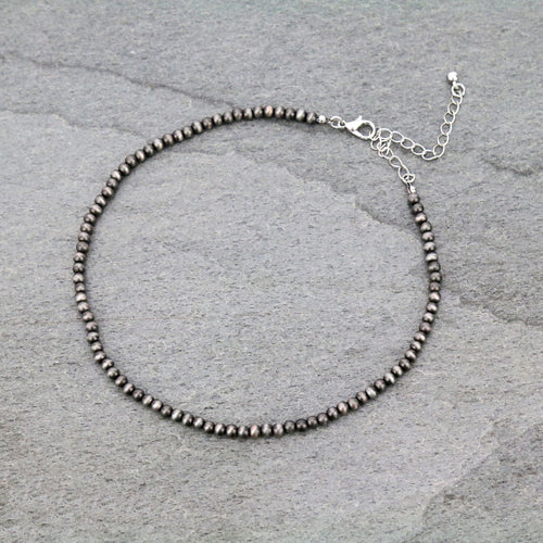 4mm Navajo Choker Necklace