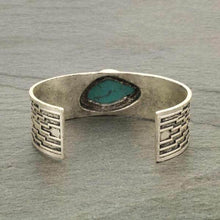 "Load image into Gallery viewer, Natural Stone ""C"" Cuff Bracelet"