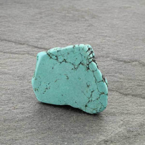 Turquoise Chunky Stone Phone Grip & Stand