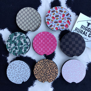 Designer Car Coasters