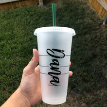 Load image into Gallery viewer, Designer Small White Pattern - Cold Cup