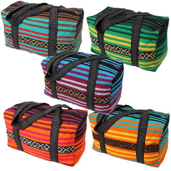 Serape Saddle Medium Weekend Bag