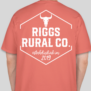 Riggs Rural Co. Comfort Colors Shirt - Watermelon