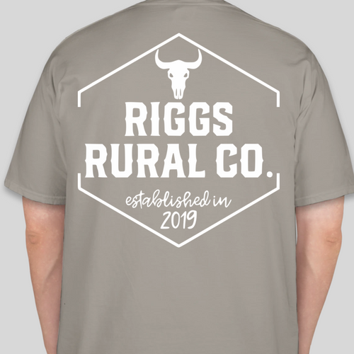 **PRE-ORDER** Riggs Rural Co. Comfort Colors Shirt - Grey