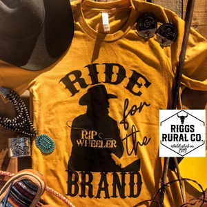 Ride For The Brand Unisex Shirt