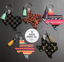 Load image into Gallery viewer, Texas Keychains