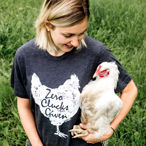 Zero Clucks Given Unisex Shirt