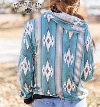 Load image into Gallery viewer, Crazy Train Gallup Girl Aztec Hoodie