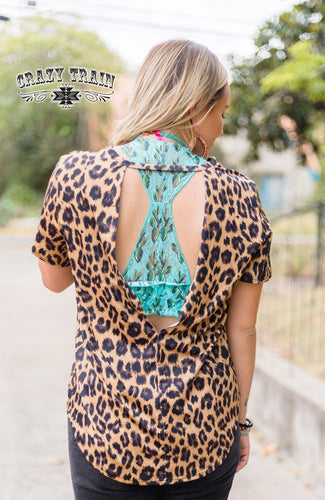 Crazy Train Back Off Top in Leopard