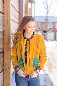 Crazy Train Mustang Moon - Mustard Jacket