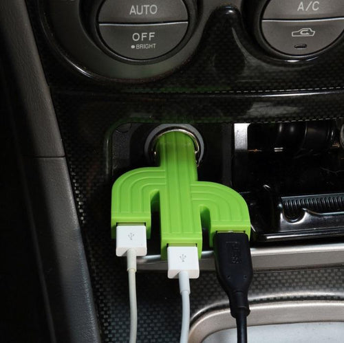 Cactus Car USB Charger
