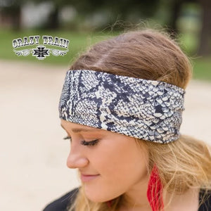 Crazy Train Hissie Fit Python Headband