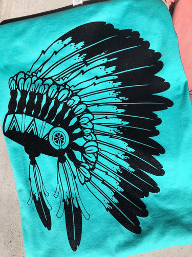 Bright Headdress Unisex Shirt
