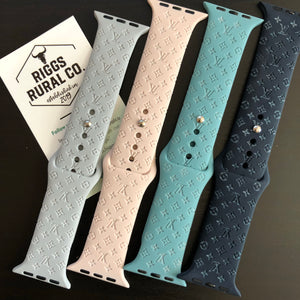 *DESIGN ONLY* - LV Custom Engraved Watch Bands