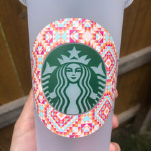 Load image into Gallery viewer, Pink Aztec - Cold Cup