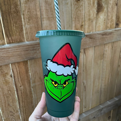 Green Grinch - Cold Cup