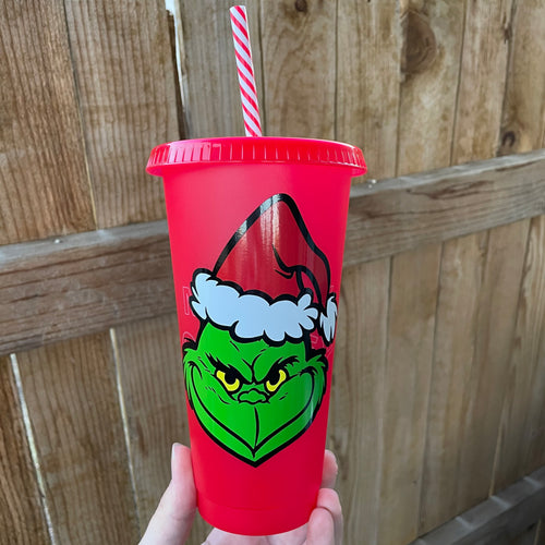 Red Grinch - Cold Cup