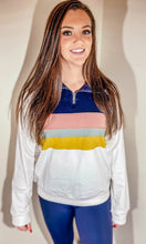 Load image into Gallery viewer, Stripe Quarter Zip Jacket