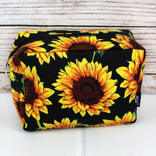 Sunflower Cosmetic Makeup Bag