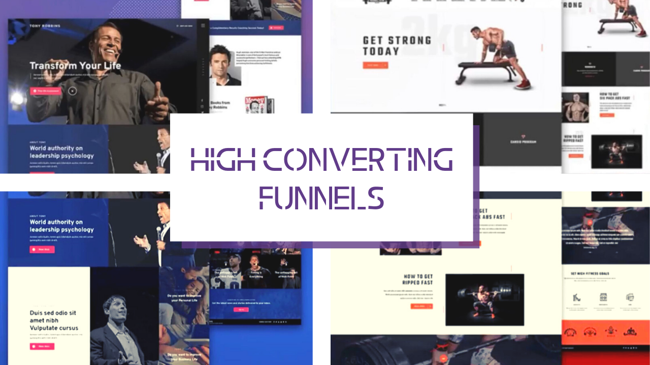 High-Converting Funnels That Attracts And Sells For You