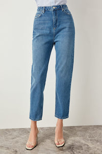 Kourtney High Waisted Mom Jeans - Olyssia™ Online