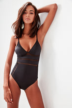 Load image into Gallery viewer, Marjorie Mesh One Piece Swimsuit - Olyssia™ Online