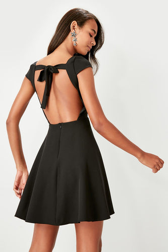 Sandra Backless Bow Tie Dress - Olyssia™ Online