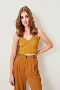 Kinley Sleeveless Knit Top - Olyssia™ Online