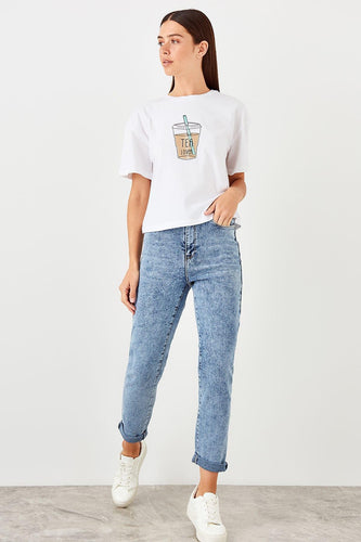 Hilary Straight Cut Jeans - Olyssia™ Online
