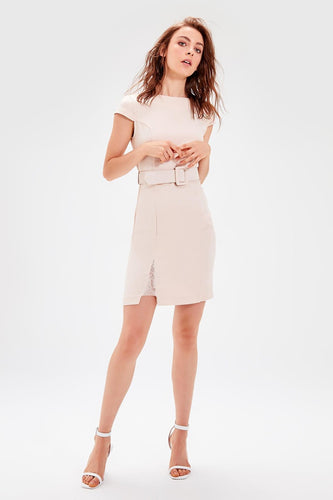 Emelia Belted Dress - Olyssia™ Online