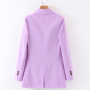 Margot Double Breasted Tailored Blazer - Olyssia™ Online