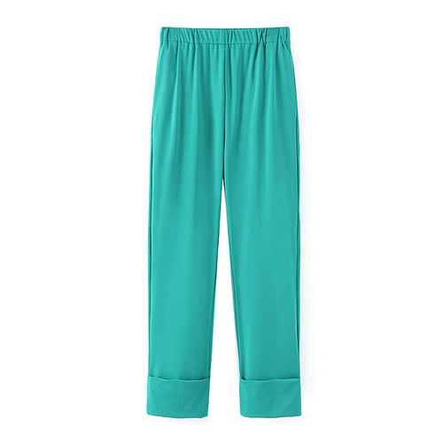Tiffany Cuffed Suit Trousers - Olyssia™ Online