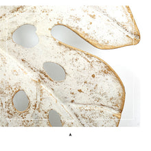 Load image into Gallery viewer, Gold Nordic Leaves Wall Decoration - Olyssia™ Online