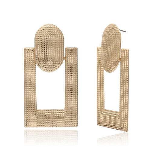 Geometric Vintage Earrings - Olyssia™ Online