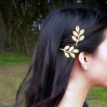 Load image into Gallery viewer, Vintage Leaves Hair Clip - Olyssia™ Online