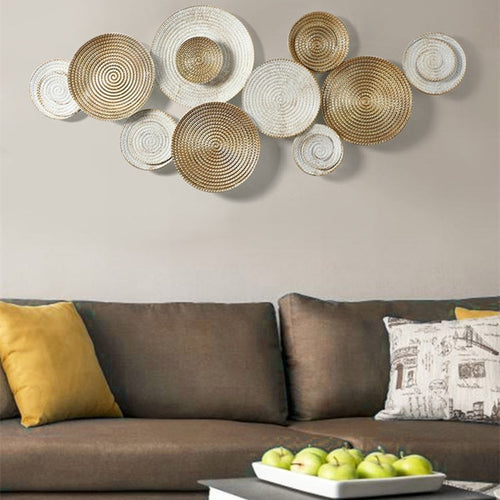 Nordic Style Round Pendant Wall Decoration - Olyssia™ Online