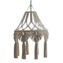Load image into Gallery viewer, Bohemian Macrame Chandelier Cover - Olyssia™ Online