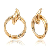 Load image into Gallery viewer, Double Layer Big Circle Earring - Olyssia™ Online