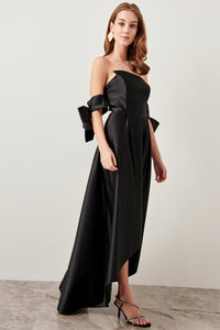 Gwendolyn Off The Shoulder Evening Gown Dress - Olyssia™ Online