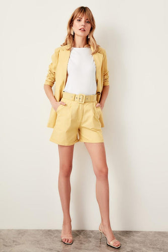 Maya Buckle Belt Shorts - Olyssia™ Online