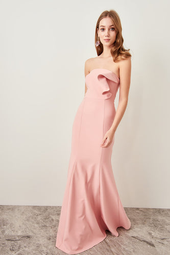 Fleur Strapless Evening Gown Dress - Olyssia™ Online