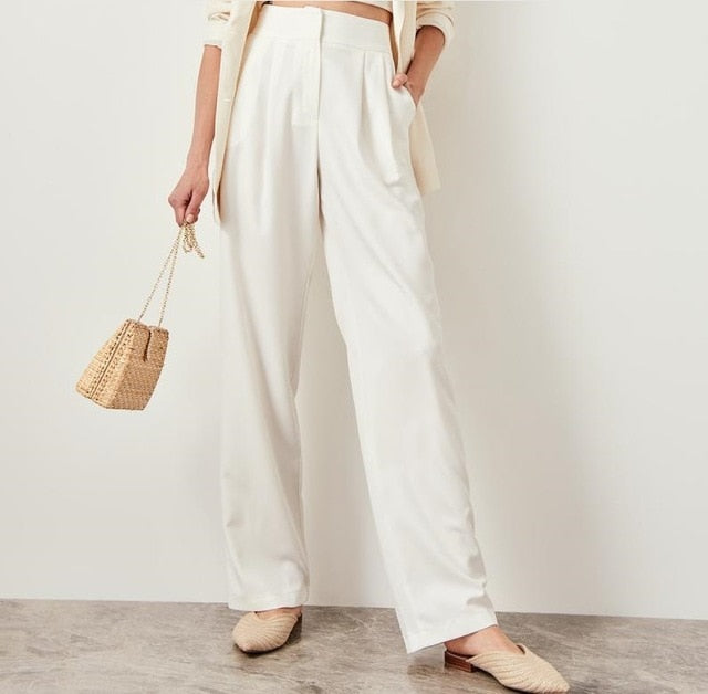 Vera High Waisted Pants - Olyssia™ Online