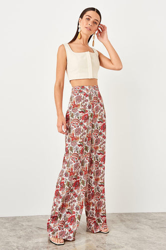 Gabriela High Waisted Wide Leg Pants - Olyssia™ Online