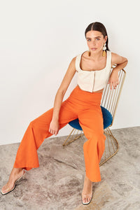 Hope High Waisted Wide Leg Pants - Olyssia™ Online