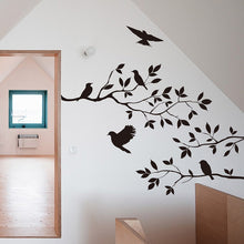 Load image into Gallery viewer, Tree & Bird Wall Vinyl Art Decal - Olyssia™ Online