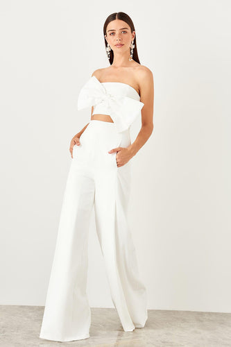 Leia High Waisted Wide Leg Pants - Olyssia™ Online
