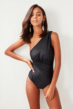 Load image into Gallery viewer, Melanie One Shoulder One Piece Swimwuit - Olyssia™ Online